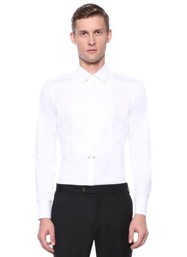 Neil Barrett Smokin Gömlek Beyaz